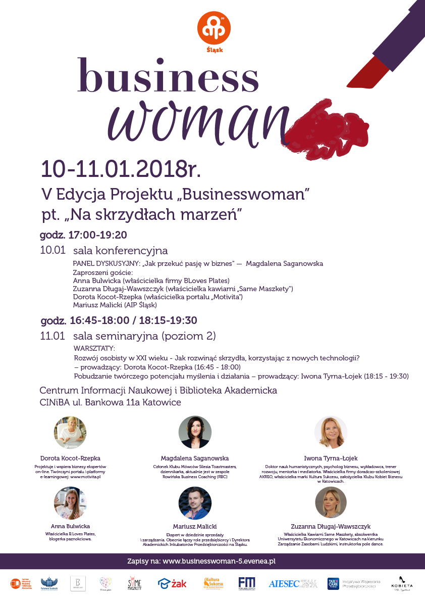 V edycja projektu Businesswoman
